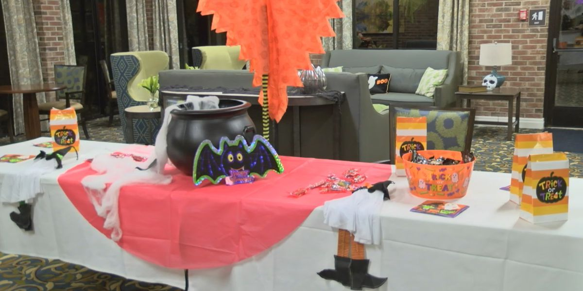 Trick-or-treating event bringing joy to all ages in at Covenant Woods in Columbus