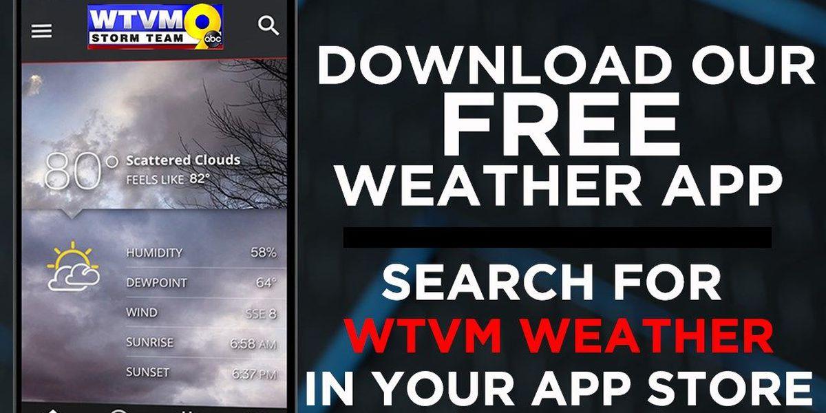 FIRST TO ALERT: Florence makes landfall Friday morning near Wrightsville Beach, North Carolina.