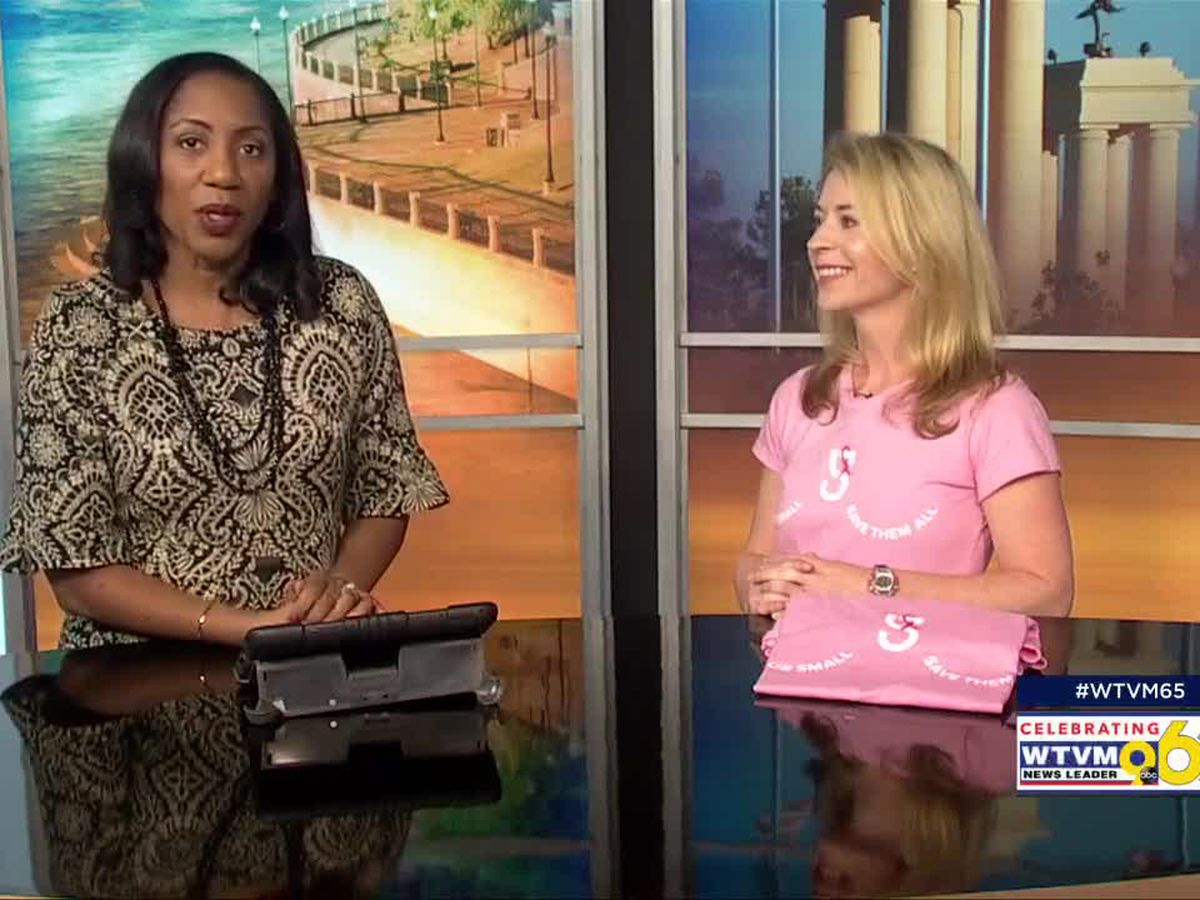 GUEST SEGMENT: Solcioty Fitness t-shirt fundraiser for thePiedmont Columbus Breast Cancer