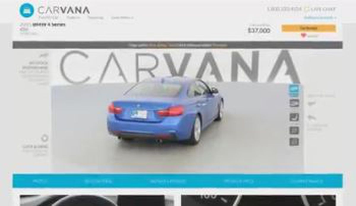 Carvana online used car dealer expands to Columbus