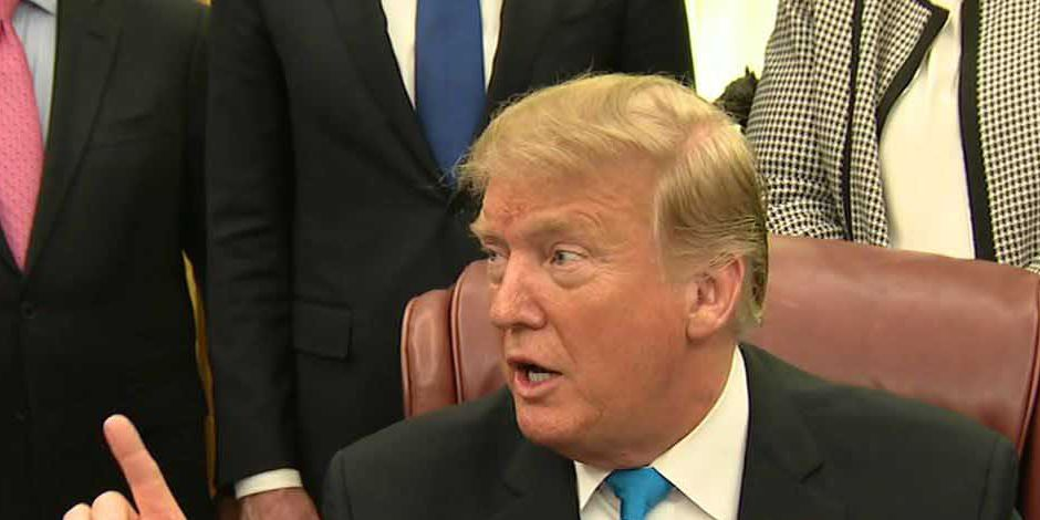 Trump denies report saying he asked Whitaker to interfere in Michael Cohen investigation