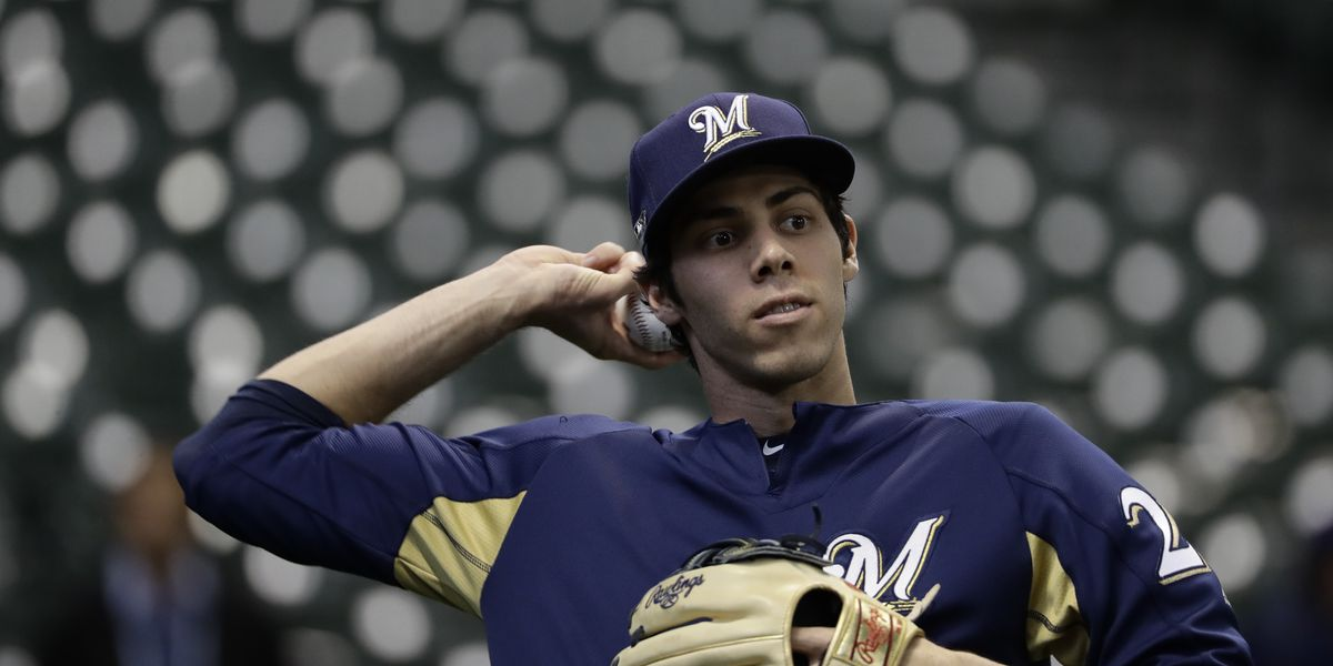 LEADING OFF: Yelich, Brewers face Dodgers, ALCS has day off