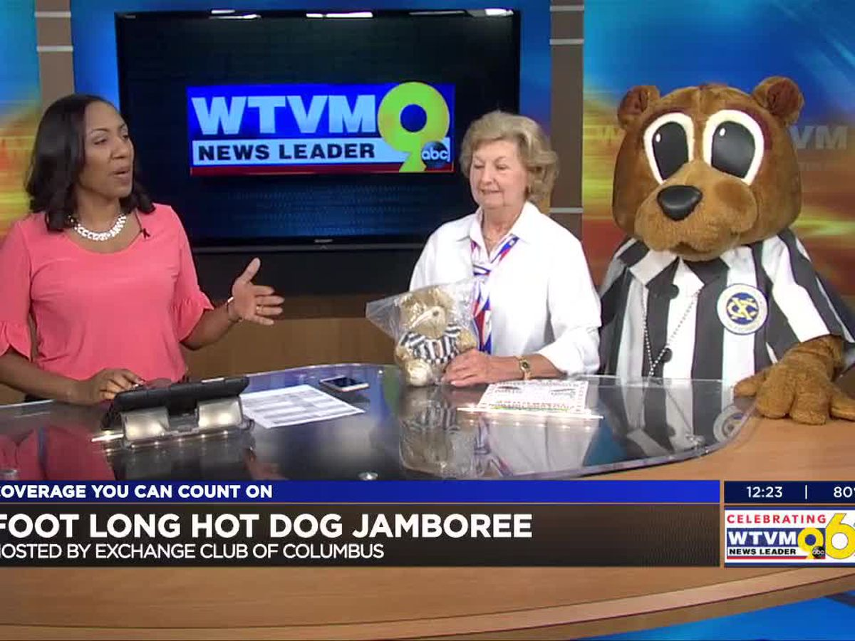 GUEST SEGMENT: Exchange Club of Columbus prepares for Foot-Long Hot Dog Jamboree