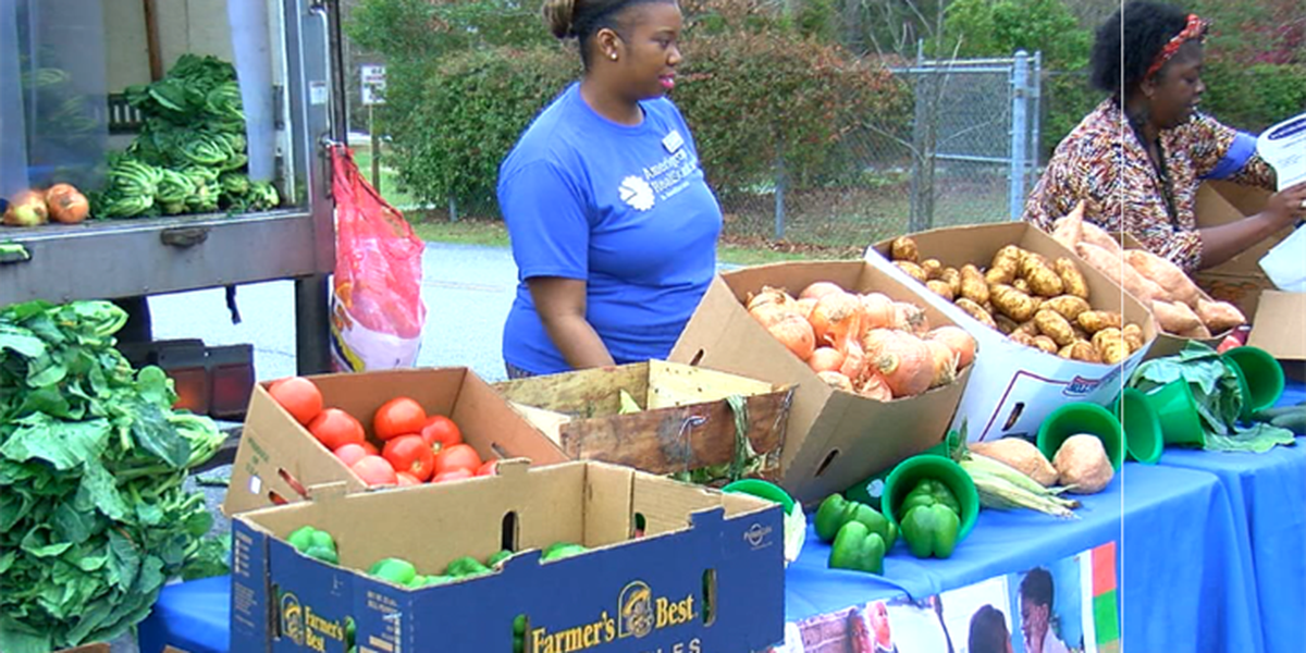 Amerigroup farmers market goes to Cusseta, GA