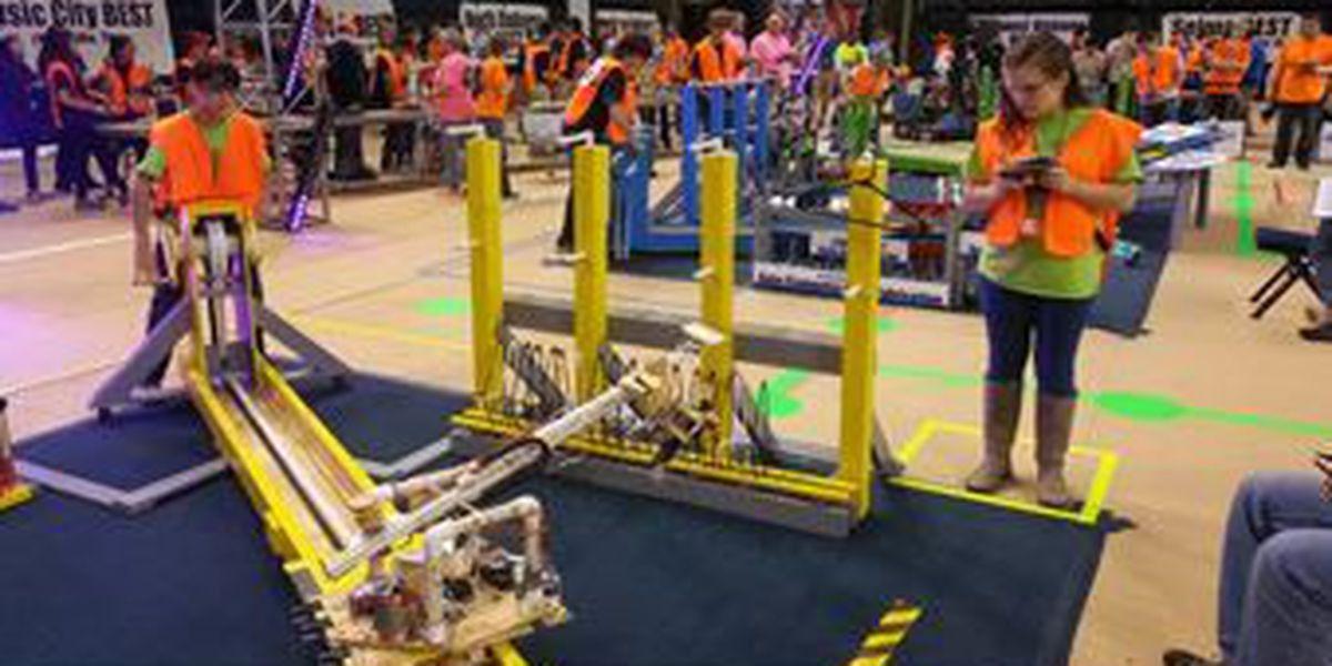 Championships for robotics program held at Auburn University