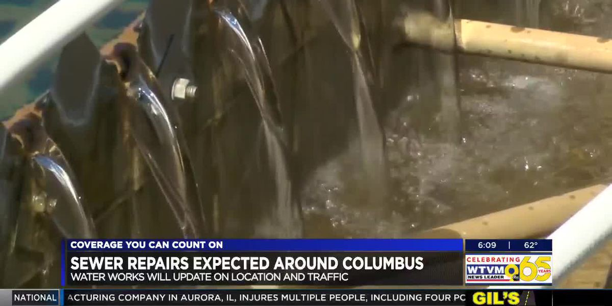 Columbus Water Works to perform sewer repairs following issues with flooding in Uptown