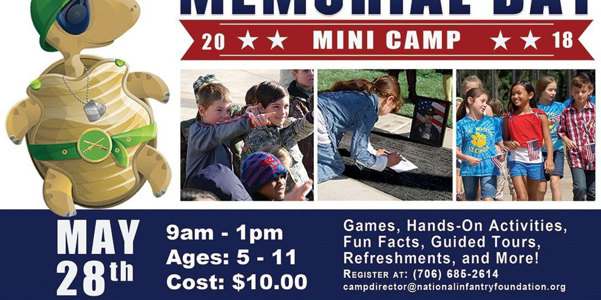 Memorial Day weekend events at the National Infantry Museum