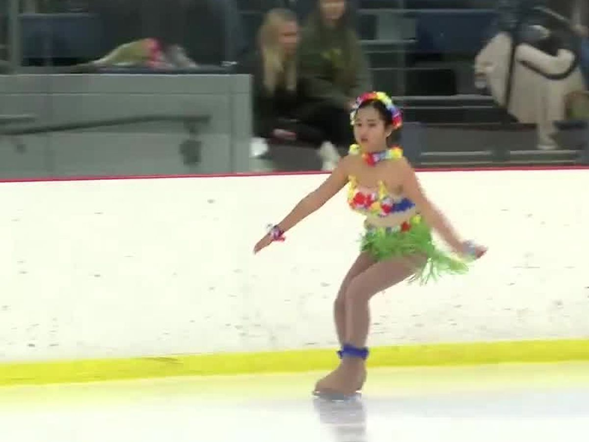Columbus skaters take the ice for their annual Christmas show