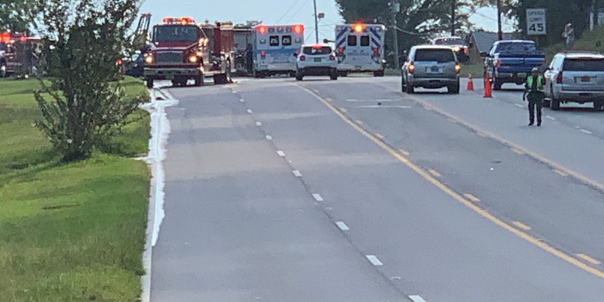 First responders on the scene of 3-vehicle accident on Hwy. 80 W. in Phenix City