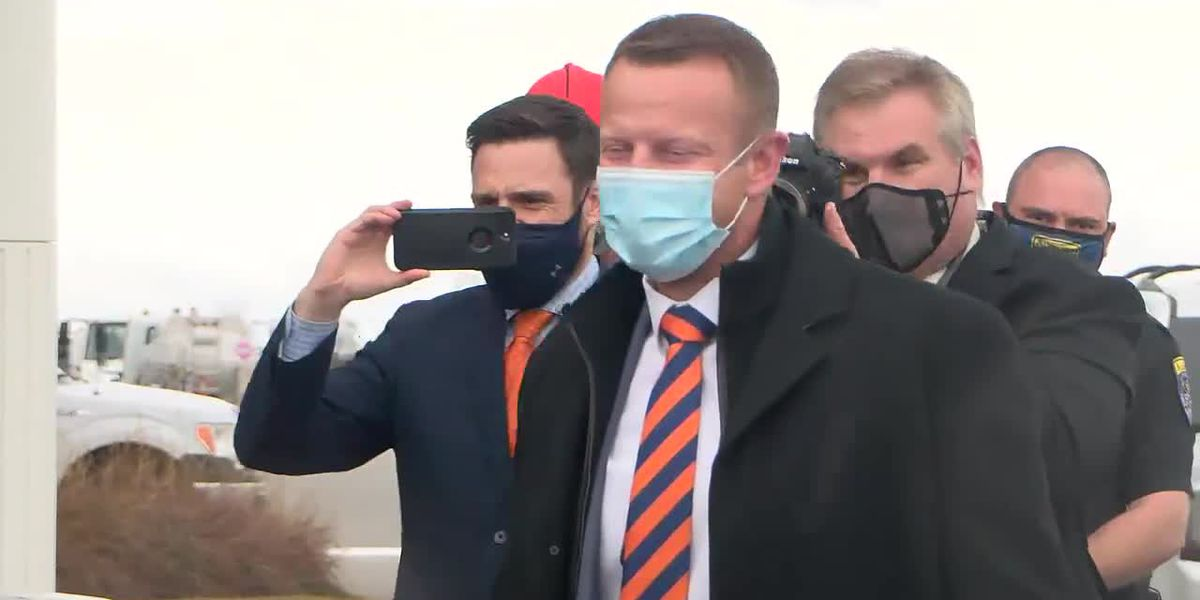 New Auburn Head Football Coach Bryan Harsin arrives at AUO