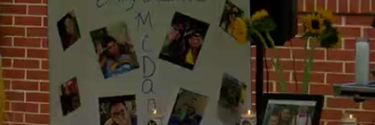 Family, friends gather in Columbus for vigil to remember Rosewood Dr. murder suspect