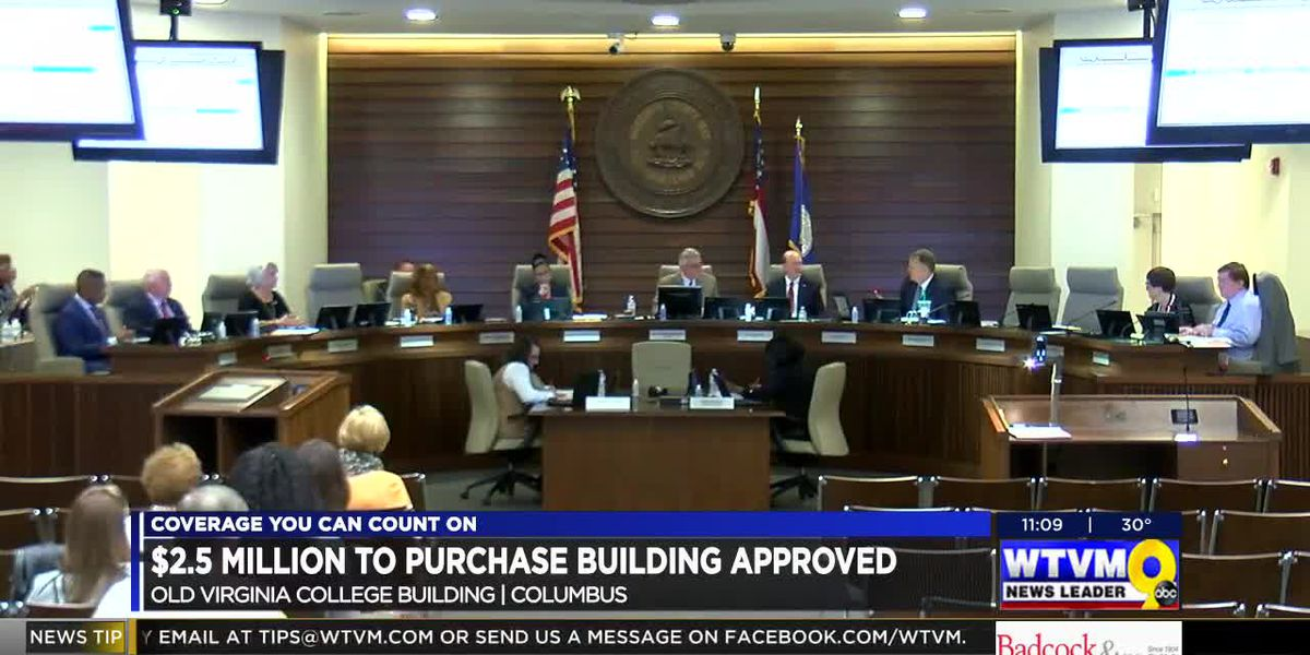 Columbus City Council approves $2.5M to purchase Virginia College building