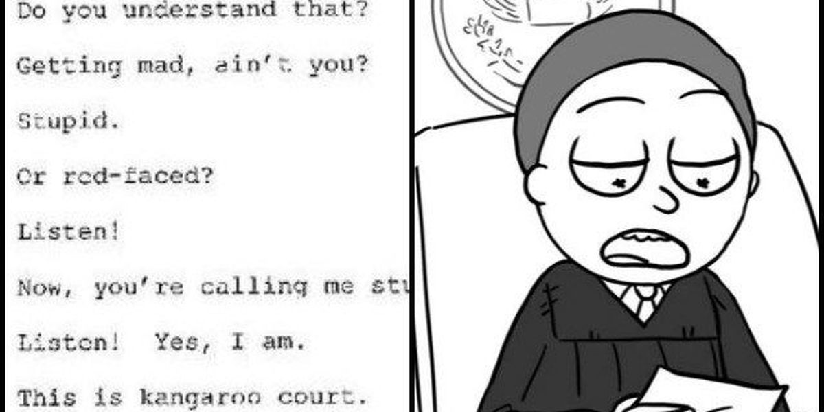 Adult Swim spoofs vulgar exchange between GA judge, murder suspect
