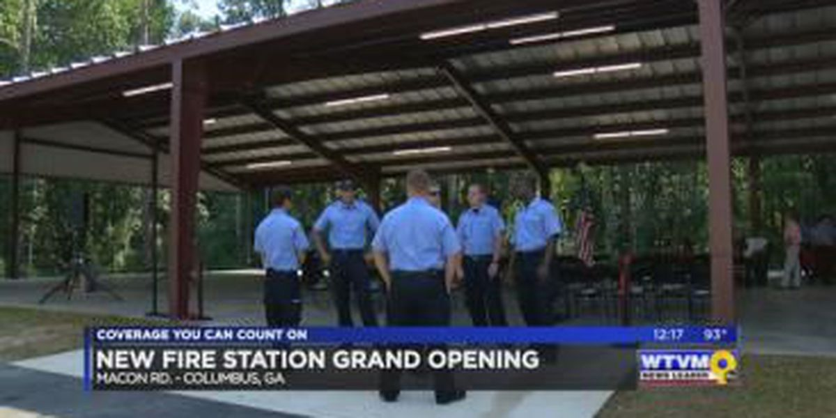 Columbus Fire & EMS host grand opening of new fire station
