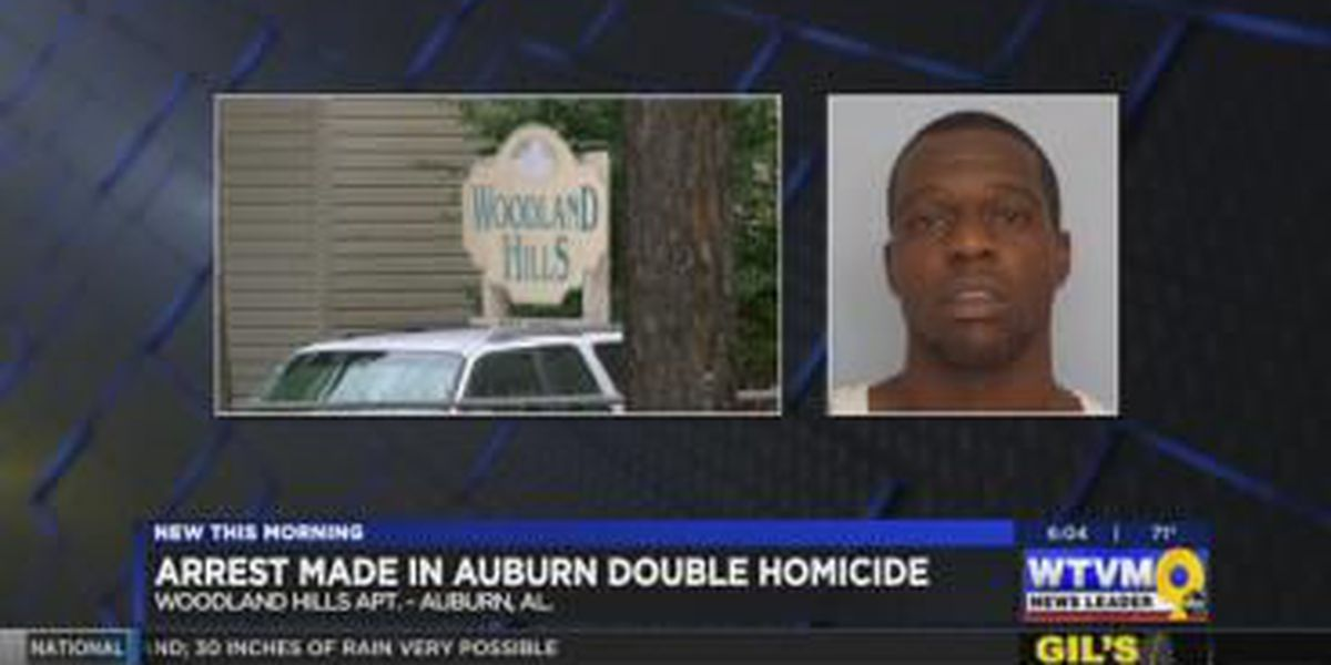 VIDEO: Man arrested, charged with murder in Auburn double homicide