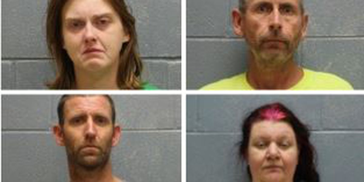 4 suspects arrested after search warrant executed in Beauregard