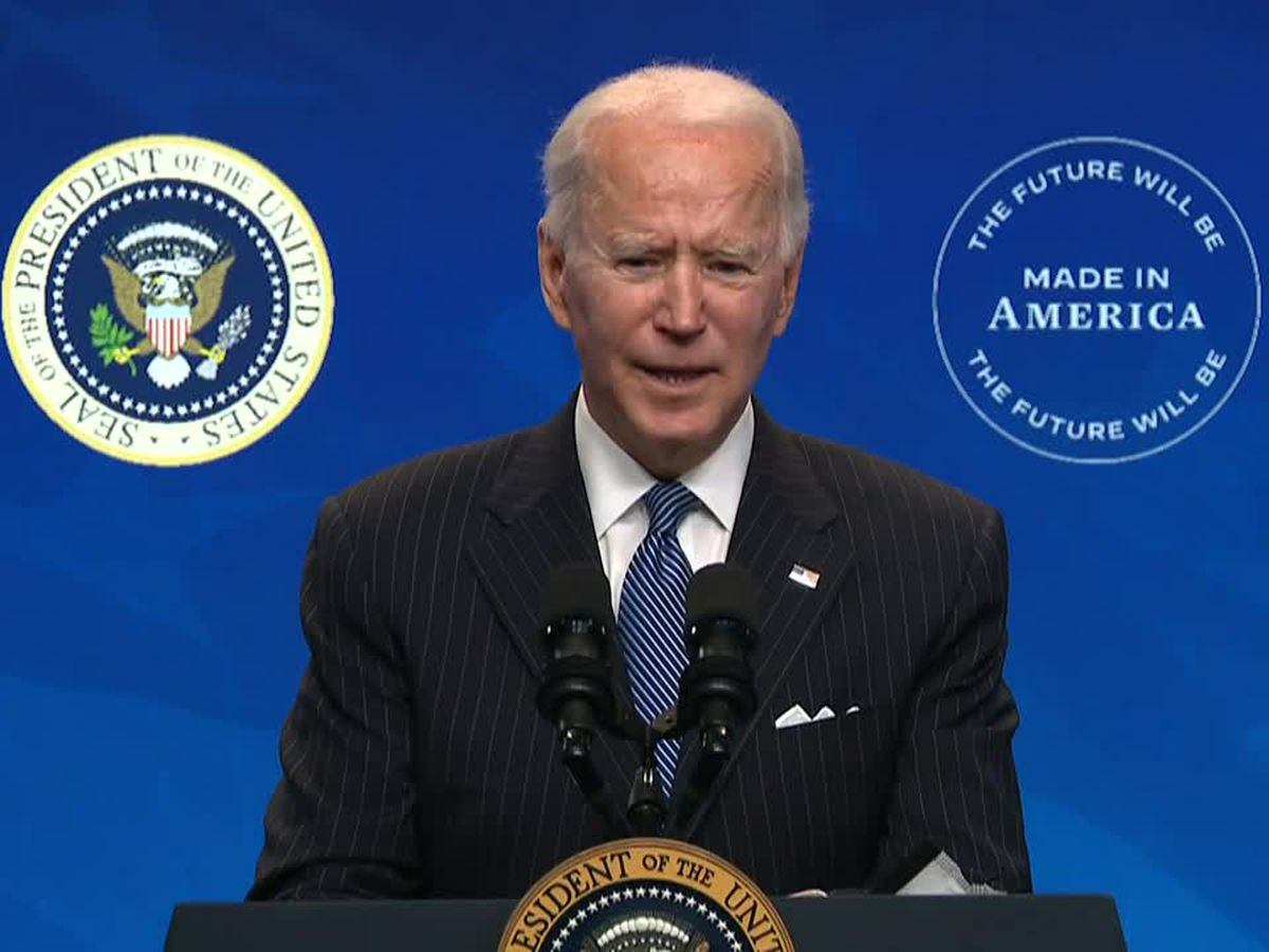 LIVE: Biden discusses racial equality agenda; president open to 1.5 million daily vaccine goal