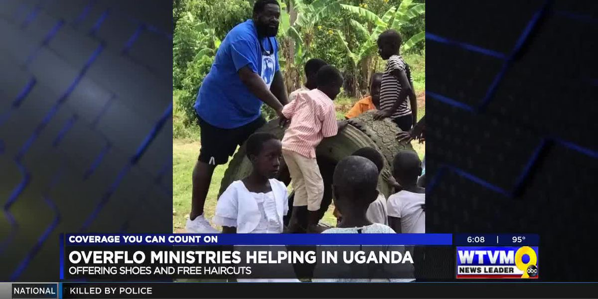 Overflo Outreach Ministries travels to Uganda for humanitarian mission trip - clipped version