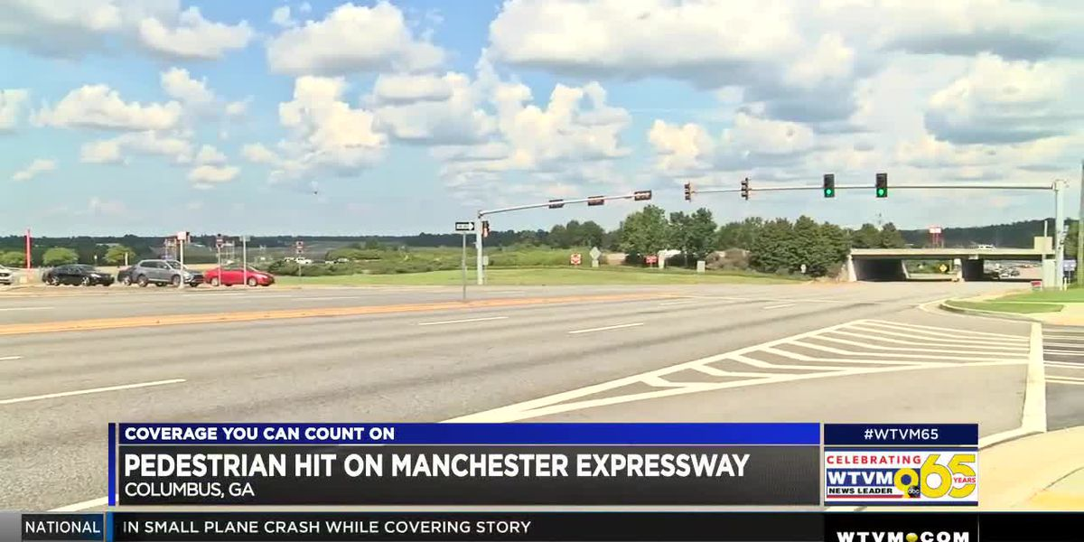 Pedestrian hit by vehicle on Manchester Expressway in Columbus