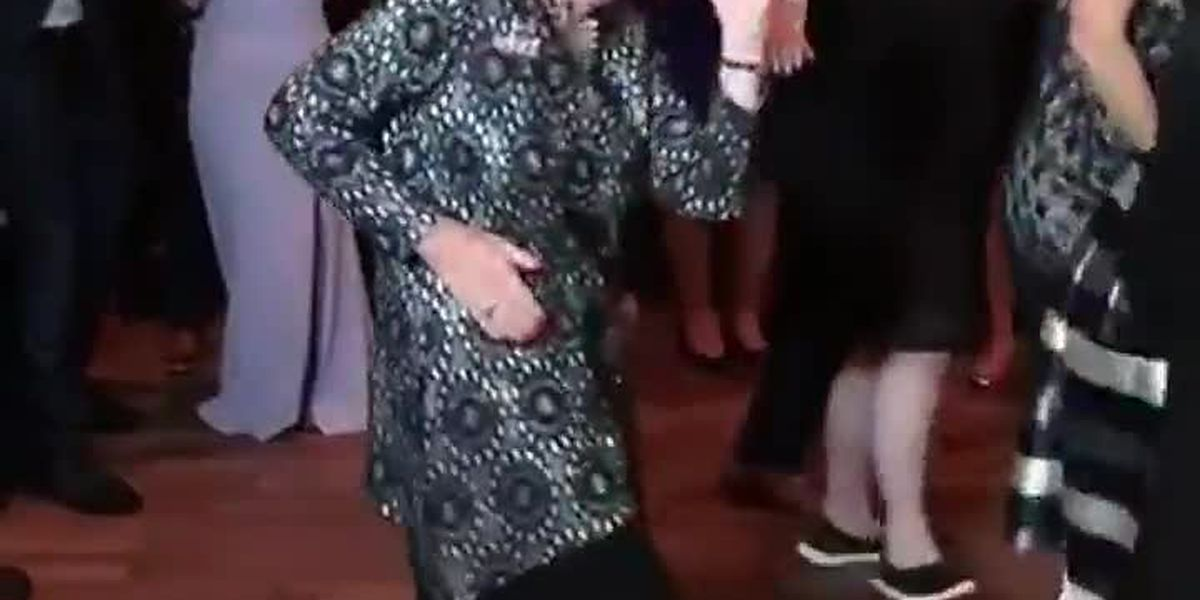 Dancing 96-year-old nana