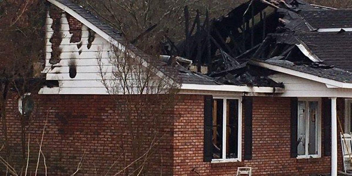 Phenix City home catches fire following lightning strike