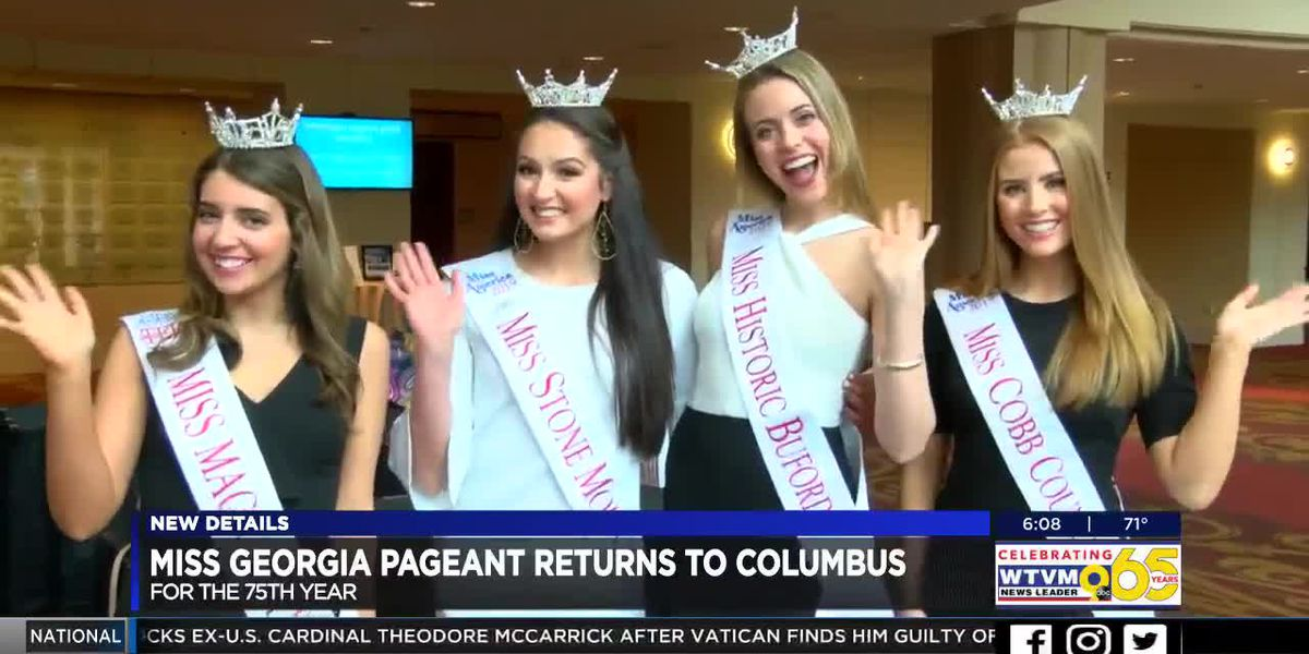 Miss Georgia Scholarship Competition to be held in Columbus for 75th year
