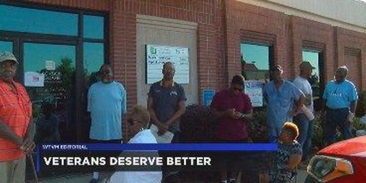 WTVM Editorial 8/13/18: Veterans deserve better