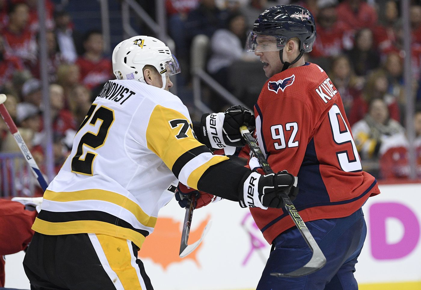 7054870388f No hearing for Malkin for hit to head in Pens  loss at Caps