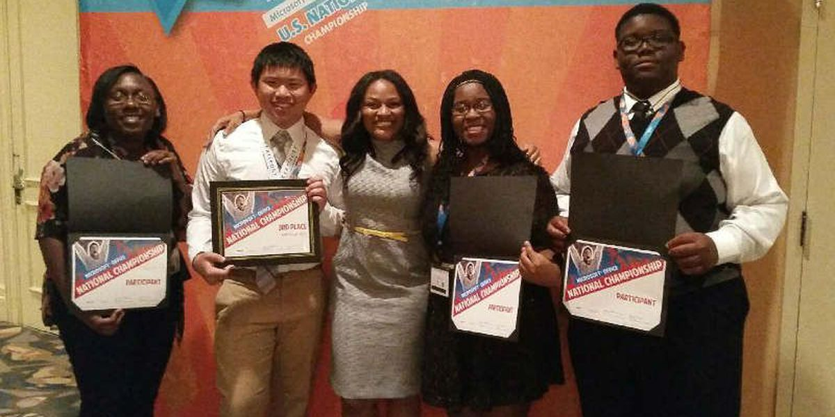 Shaw High, Early College students recognized in 2015 Microsoft Office Specialist Competitions