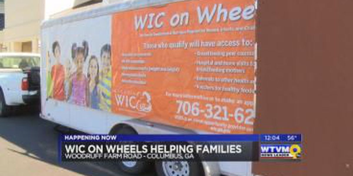 SEGMENT: 'WIC on Wheels' provides food for families in need