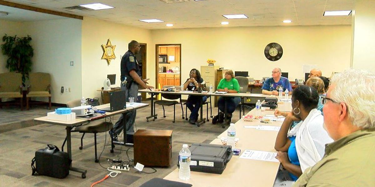 Muscogee County Marshal's Office hosts civilian firearms course