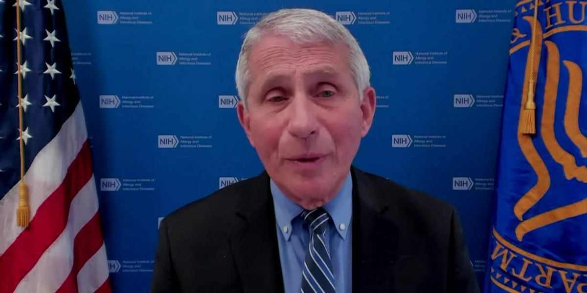 Fauci: Variants are wild card for vaccines