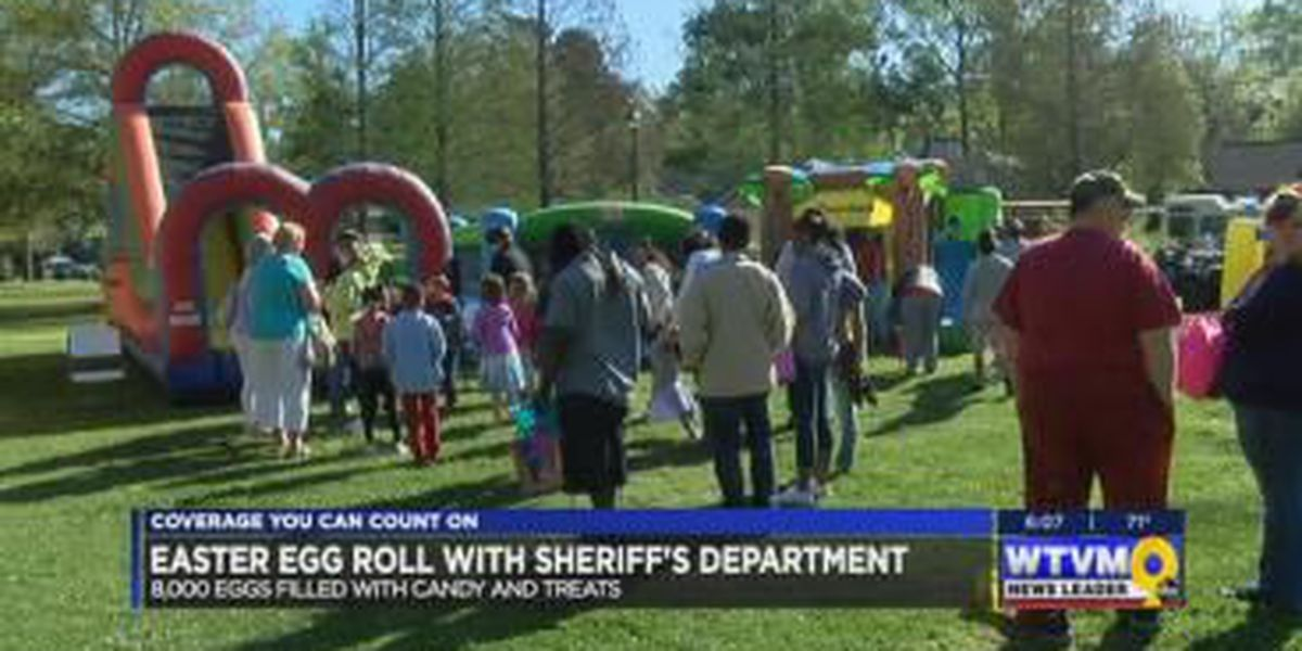 Muscogee County Sheriff's Office hosts 4th annual Easter Egg Roll