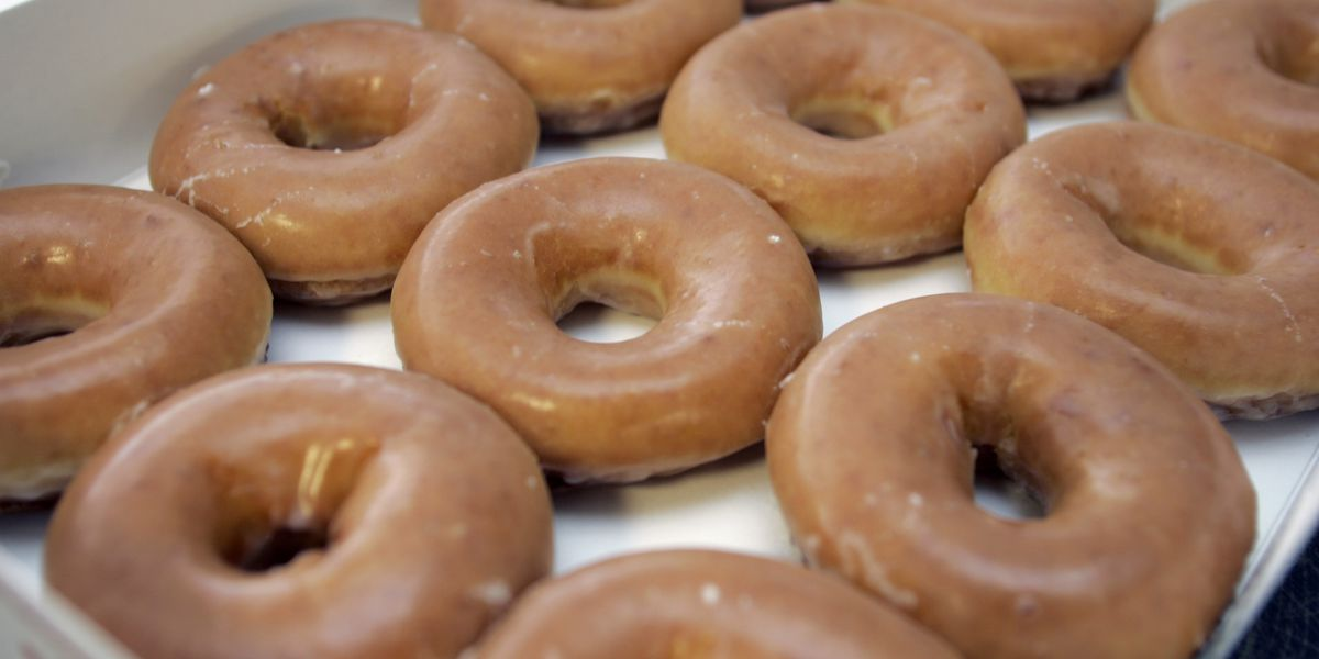 Krispy Kreme thanks teachers with free doughnut