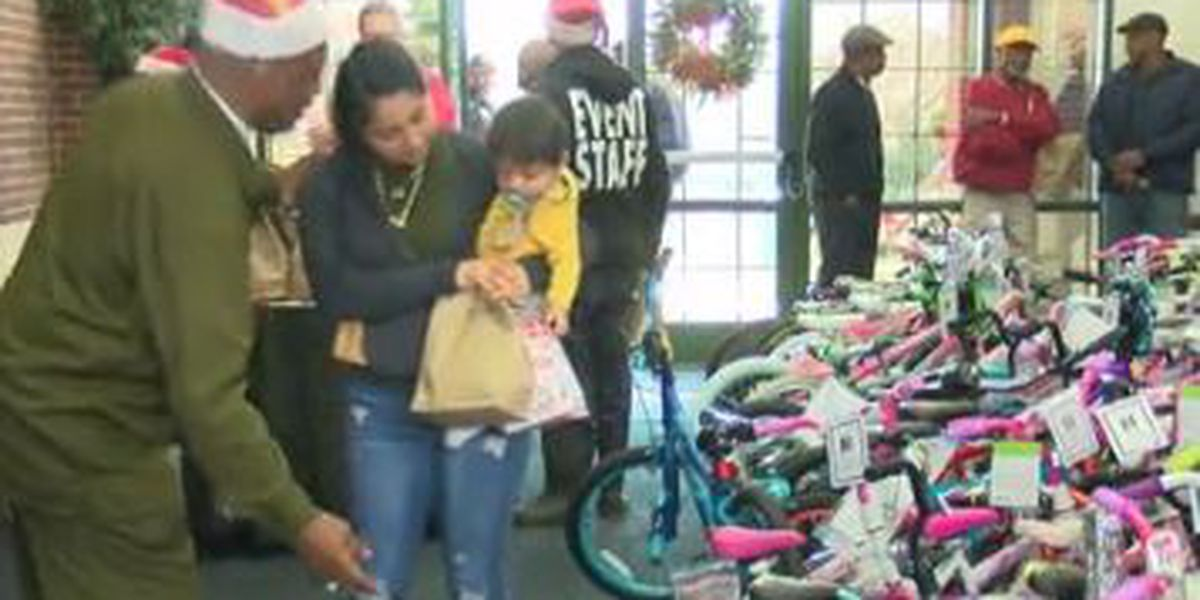 Children in Phenix City receive holiday gifts at 'Christmas at the Courthouse'