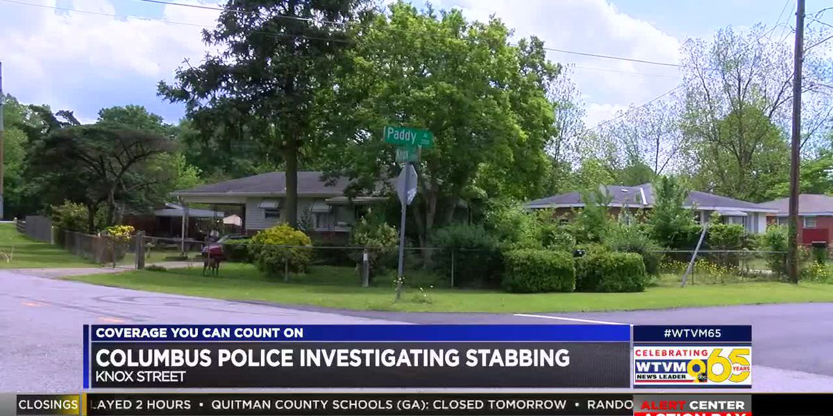 Columbus police investigating stabbing on Knox St.