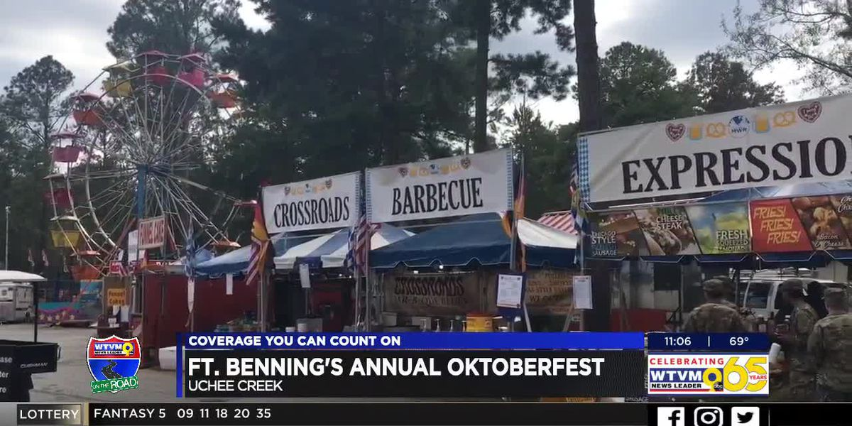 Oktoberfest underway at Uchee Creek on Fort Benning