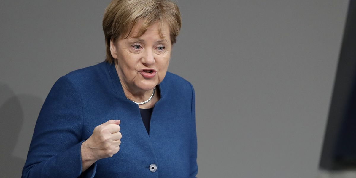 Merkel says UN migrants pact is in Germany's interest