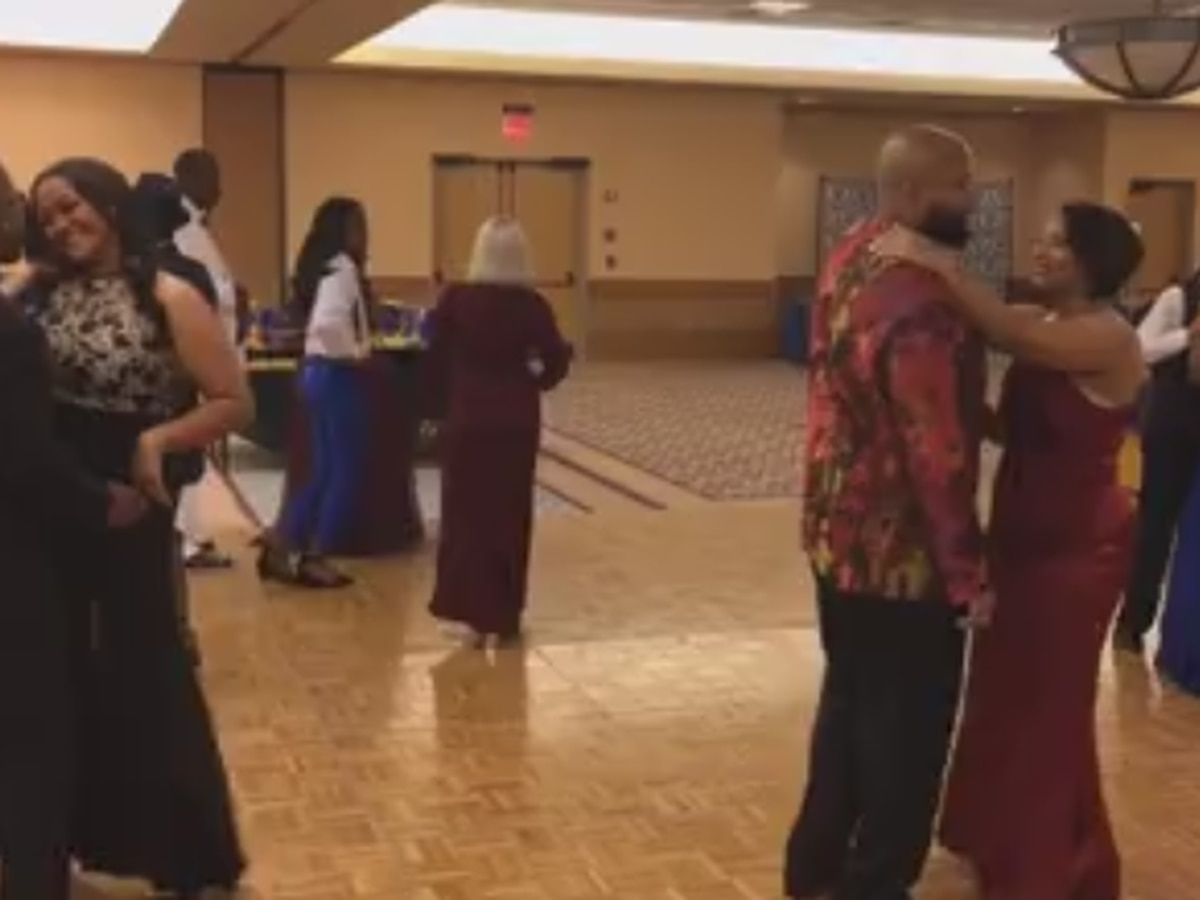 Couples gather for a 'Second Chance at Prom' in Columbus