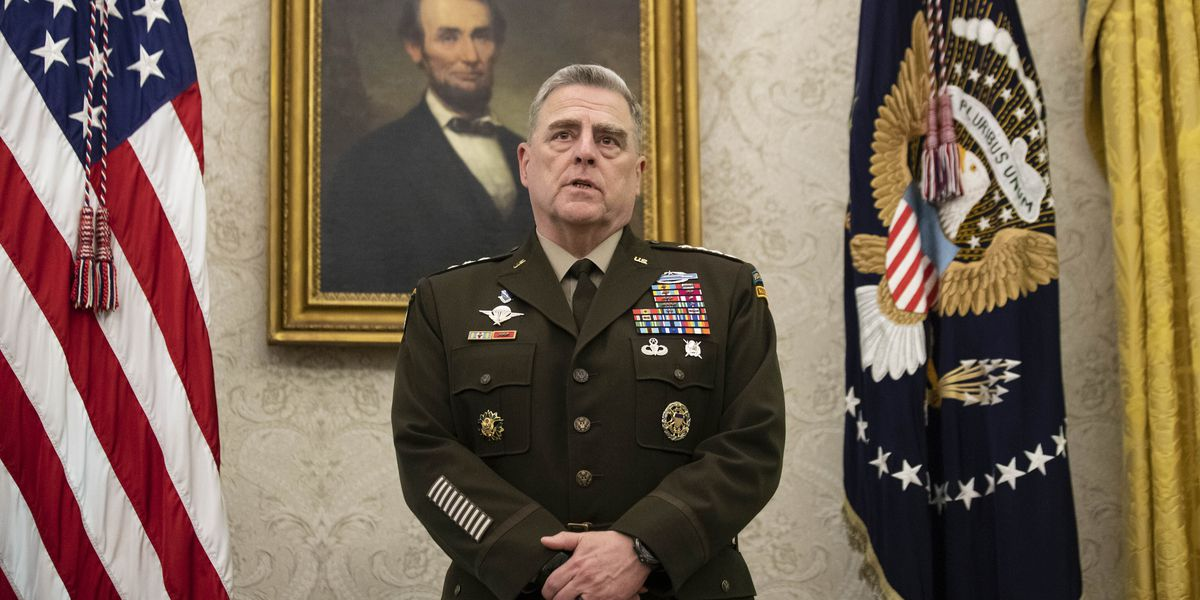 After years fighting them, Milley talks peace with Taliban