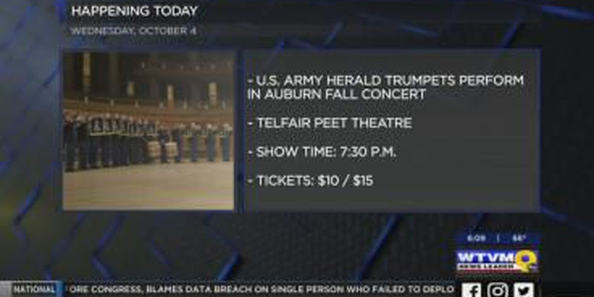 U.S. Army fanfare band to perform in Auburn