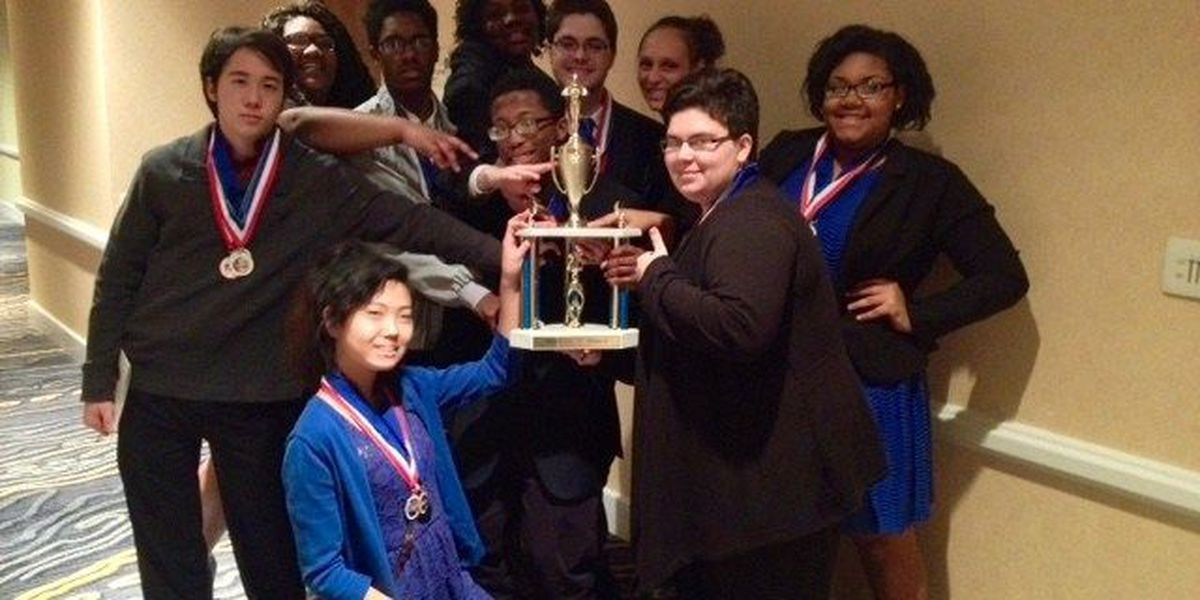 Shaw High's academic decathlon team wins 2nd at state competition