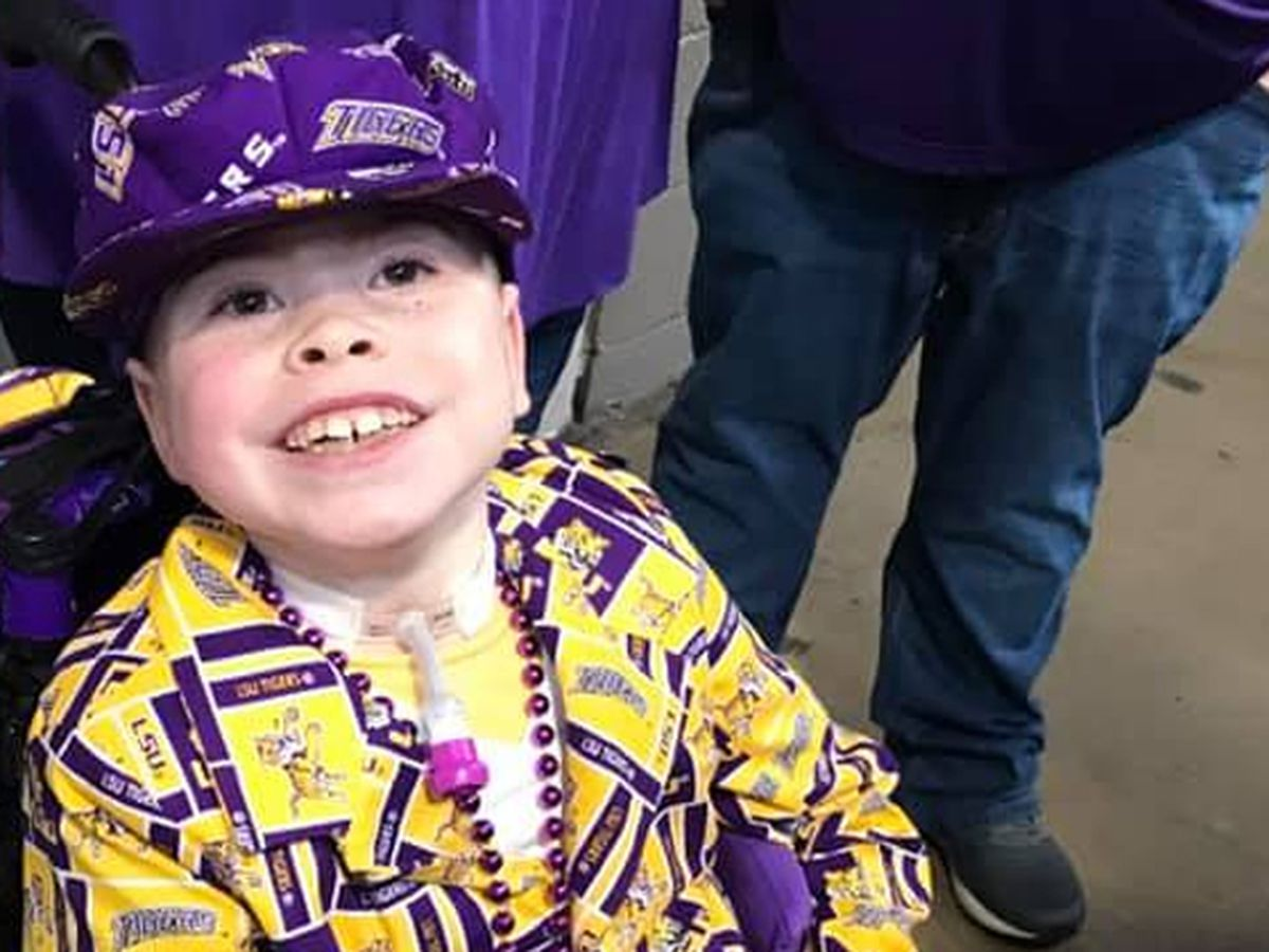 9-year-old LSU superfan from Alabama witnesses national championship win
