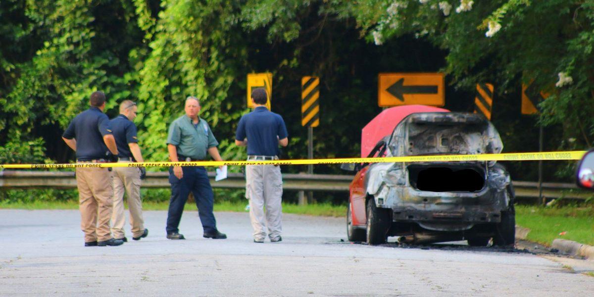 Coroner believes DNA samples could ID burned car homicide victim