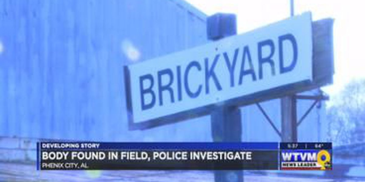 Phenix City police investigating body found at a campsite near Brickyard Rd.