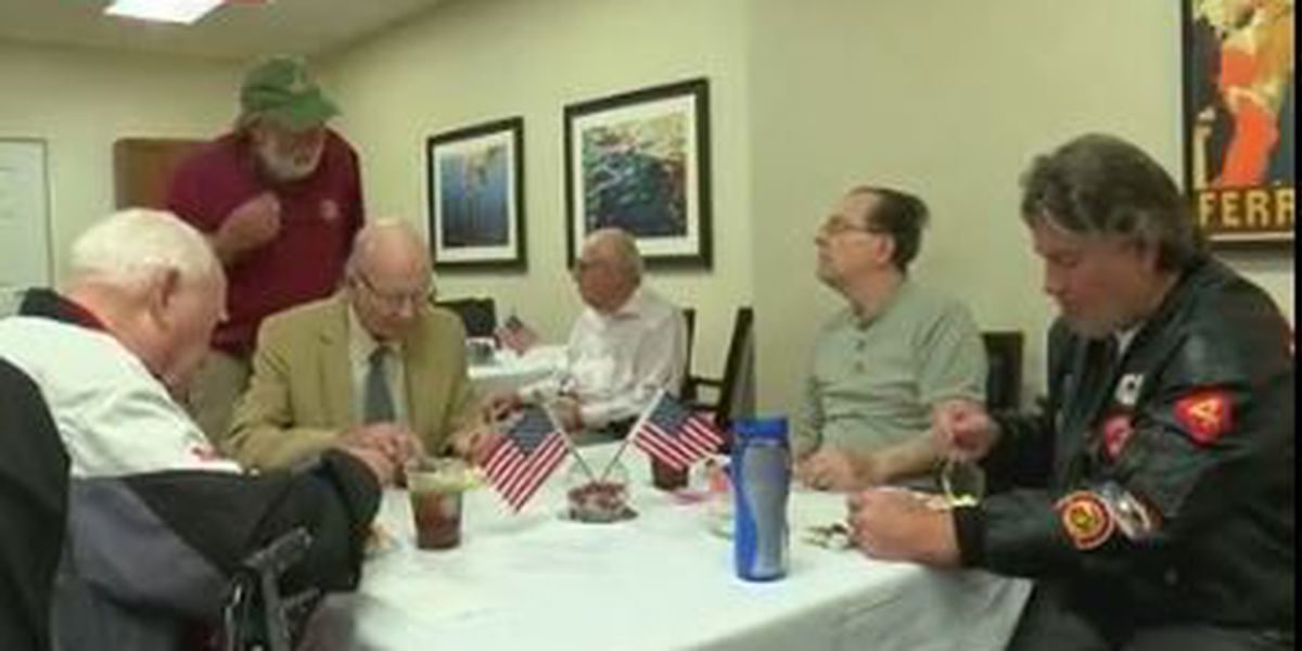 Covenant Woods in Columbus celebrates veteran residents in honor of D-Day