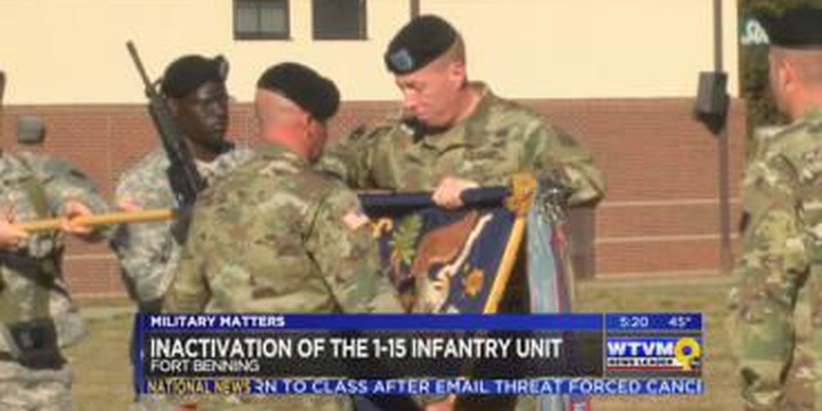 Military Matters: Inactivation of 1-15 Infantry Regiment