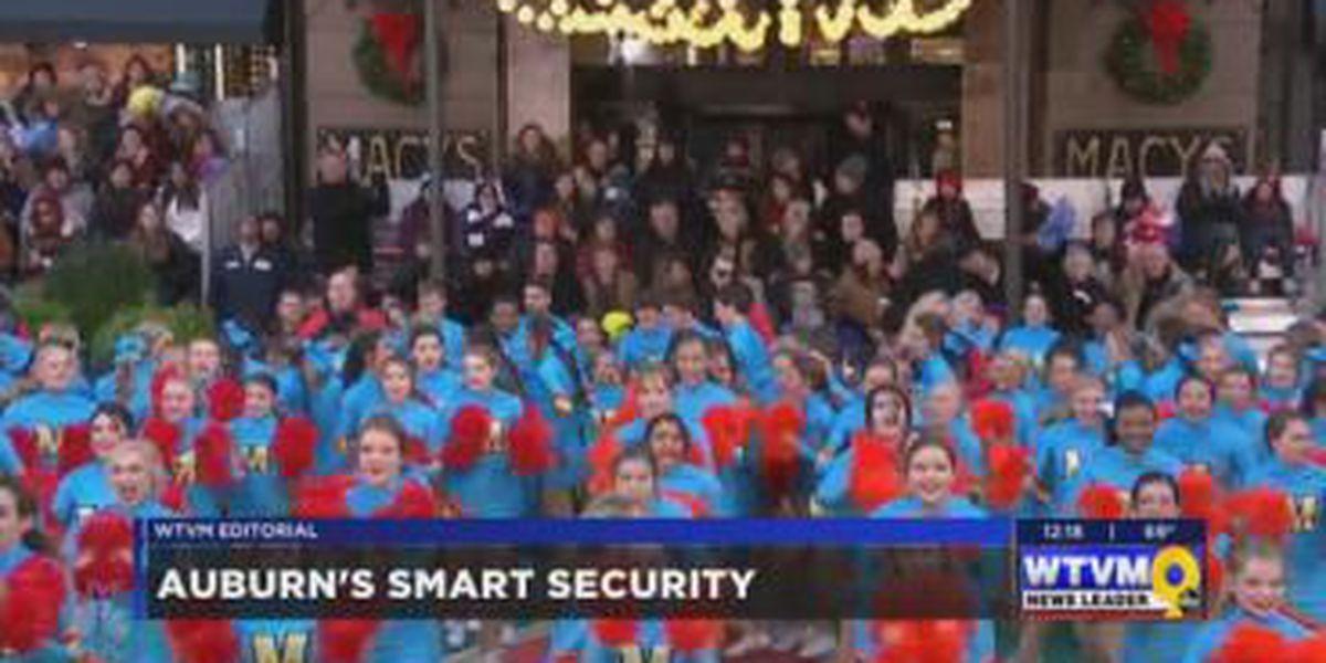 WTVM Editorial 12/1/17: Auburn's smart security