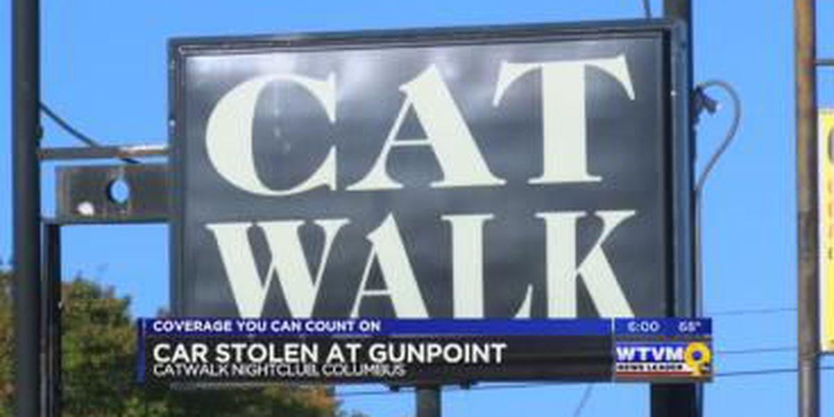Man held at gunpoint, car stolen at Columbus' CatWalk