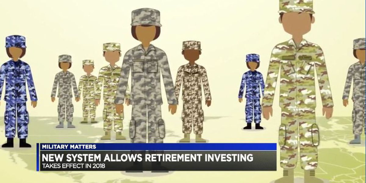 Military Matters: New system allows retirement investing